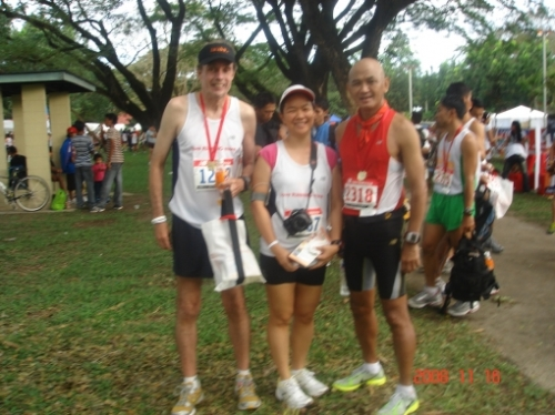 with SF Runner and Bald Runner