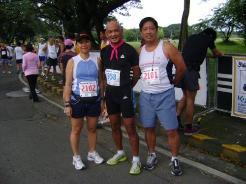 me, Bald Runner, Jun