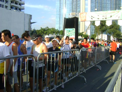 Finish Line Long Queue