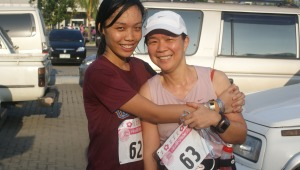 fei & me after the race