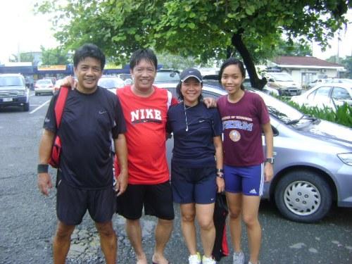 with Rene, Jun, & Faye