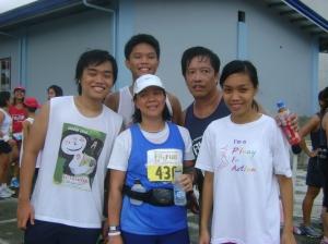 my running family
